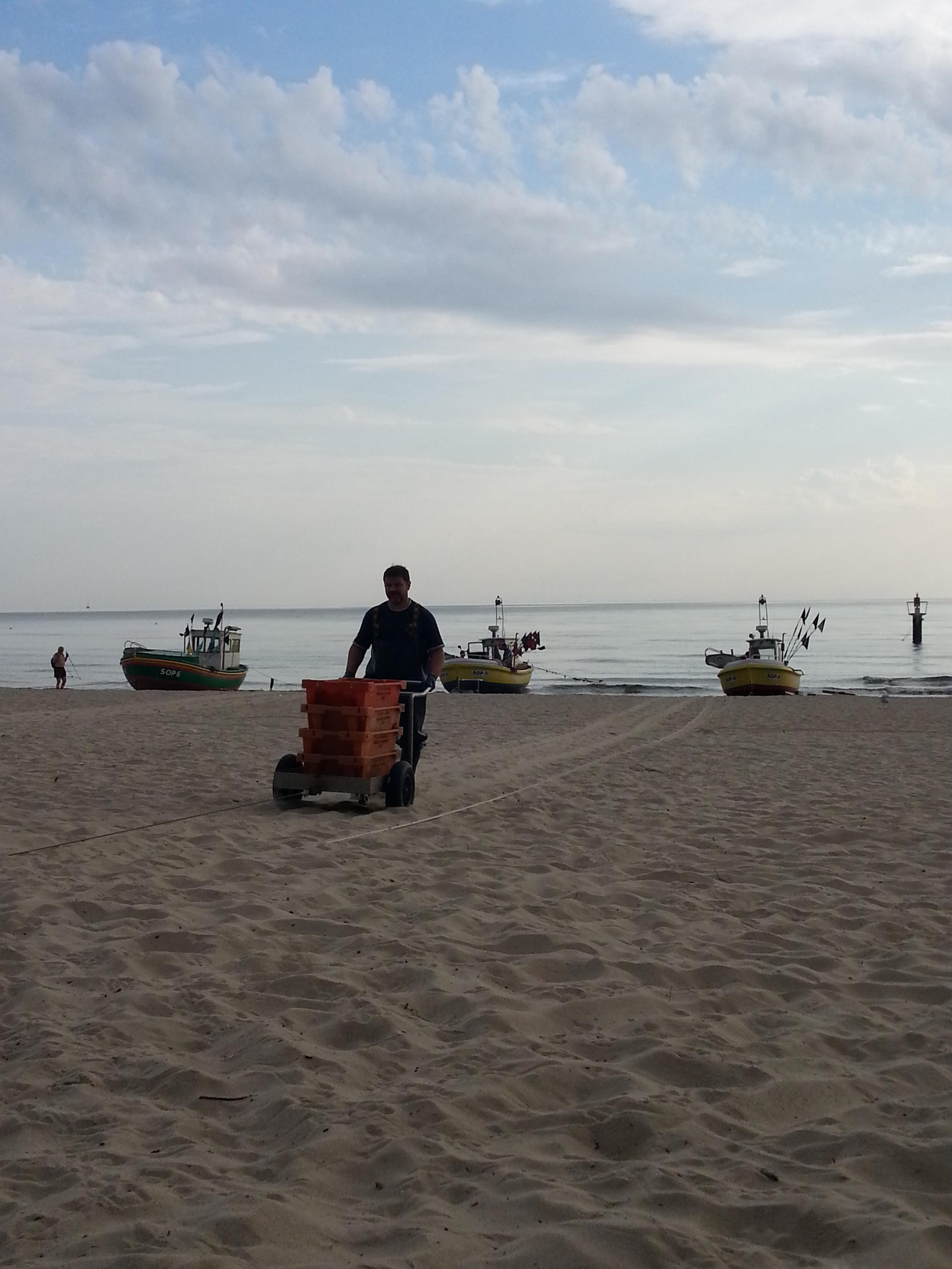 波兰第四站:阳光海滩木栈桥:索波特