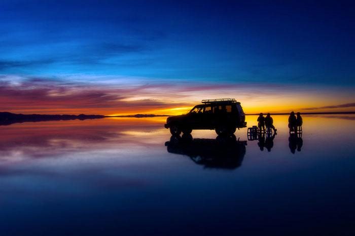 烏尤尼鹽湖  Uyuni Salt Flat   -3