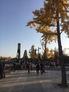 大雁塔北广场音乐喷泉-西安-噼里啪啦