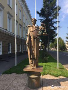 Statue of the Goddess Femidy-鄂木斯克
