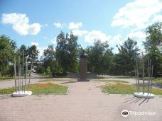 Monument to Dmitry Karbyshev-鄂木斯克