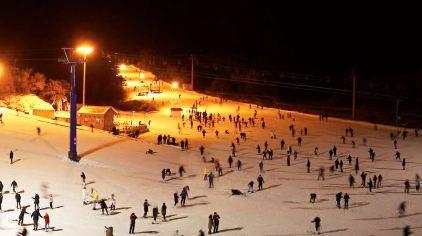 棋盘山滑雪场06