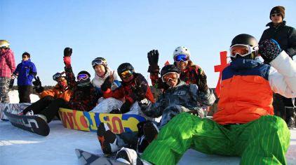 棋盘山滑雪场04