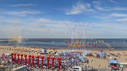 东疆湾人造黄金海岸