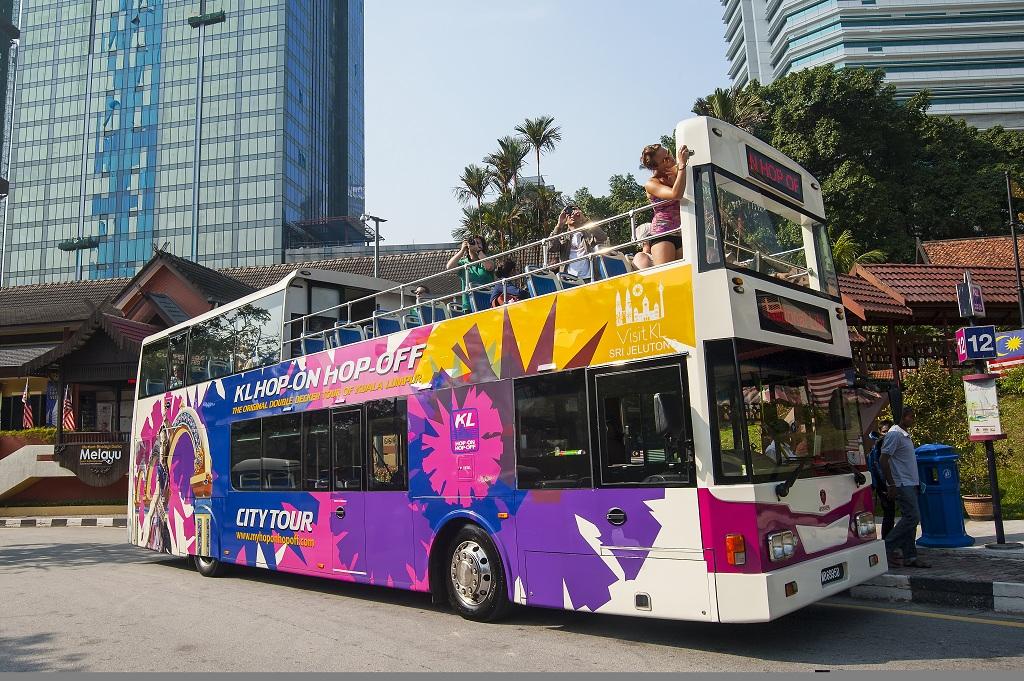 쿠랄라룸푸르 Hop on hop off 버스 시티 투어