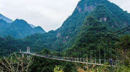 龙麒源索桥