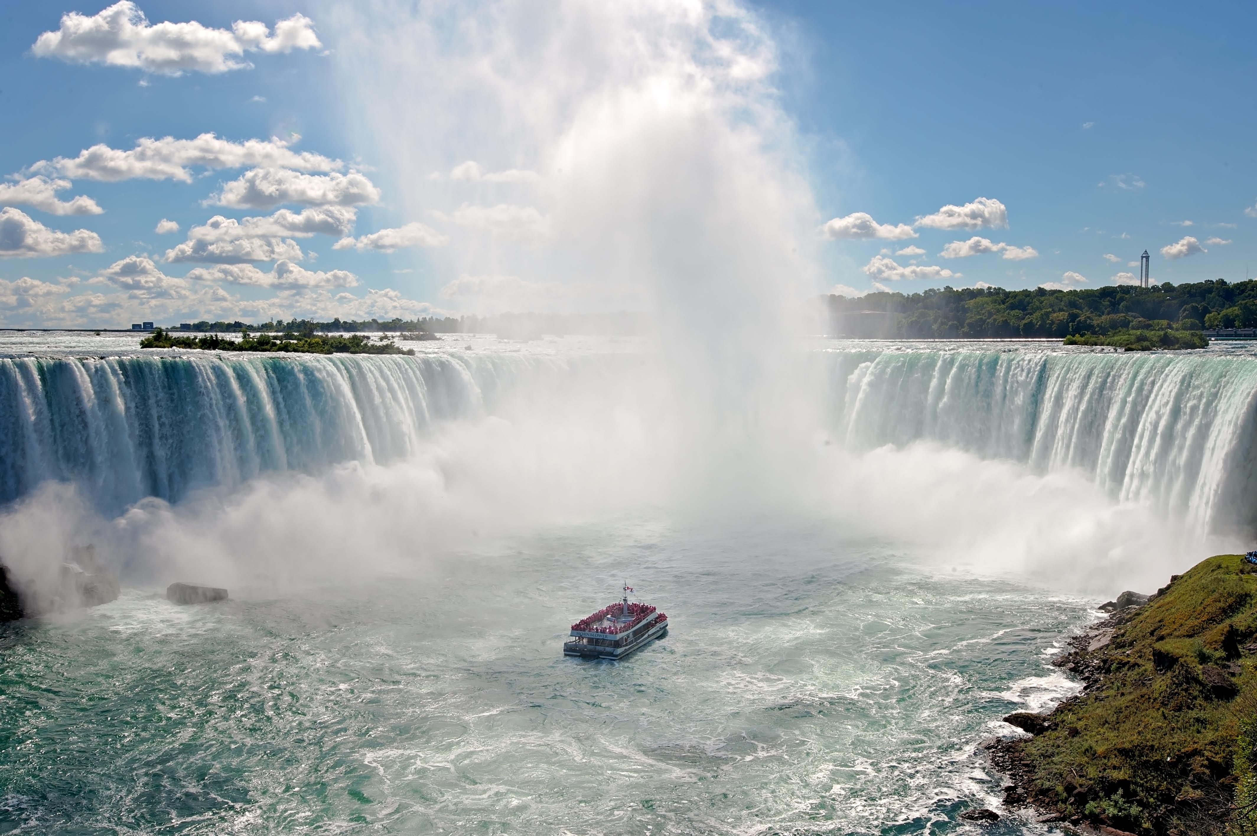 加拿大尼亞加拉瀑布遊船 - 號角者號