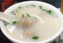东莞美食图片-道滘肉丸粥