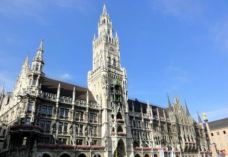 慕尼黑新市政厅-慕尼黑-真的在一起的时候