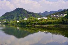 渔梁坝-歙县-壶中月