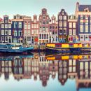 One-hour canal cruise of Amsterdam
