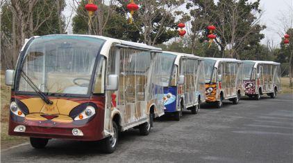 无锡动物园观光车 (2)
