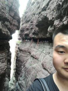一线天-云台山-天鹅湖的青蛙