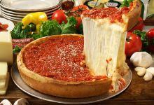 芝加哥美食图片-美式披萨
