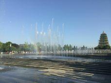 大雁塔北广场音乐喷泉-西安-山在穷游