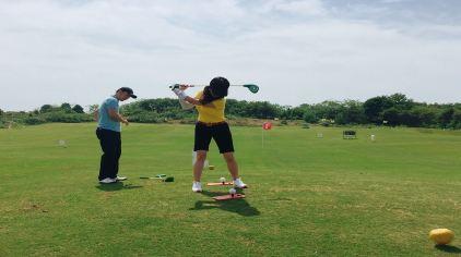 梁子湖高尔夫05