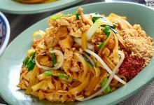 苏梅岛美食图片-泰式炒河粉