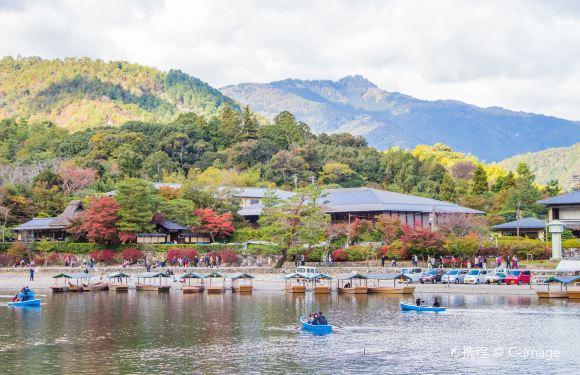 嵐山保津川遊船票