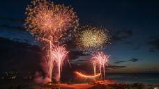 海洋博公园花火大会