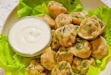 莫斯科美食图片-俄式饺子