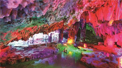 柞水溶洞国家地质公园·龙宫—张忠良