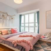 廣州粉色溫馨中山八地鐵上下九荔灣湖普通公寓