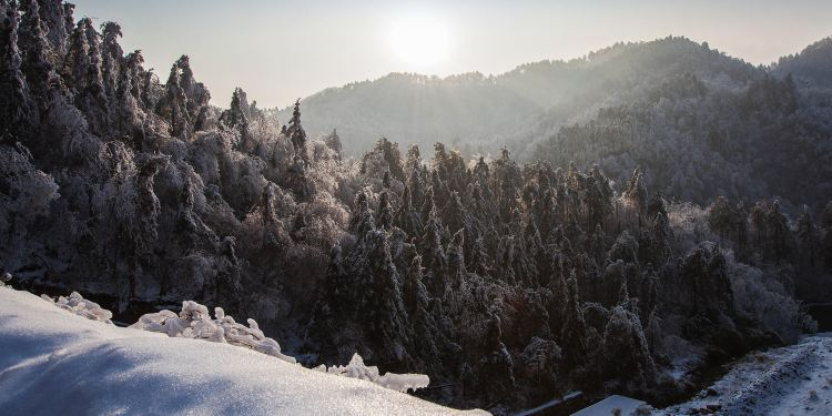 大明山图片