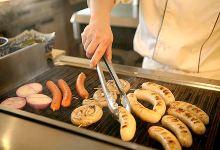 苏黎世美食图片-烤香肠