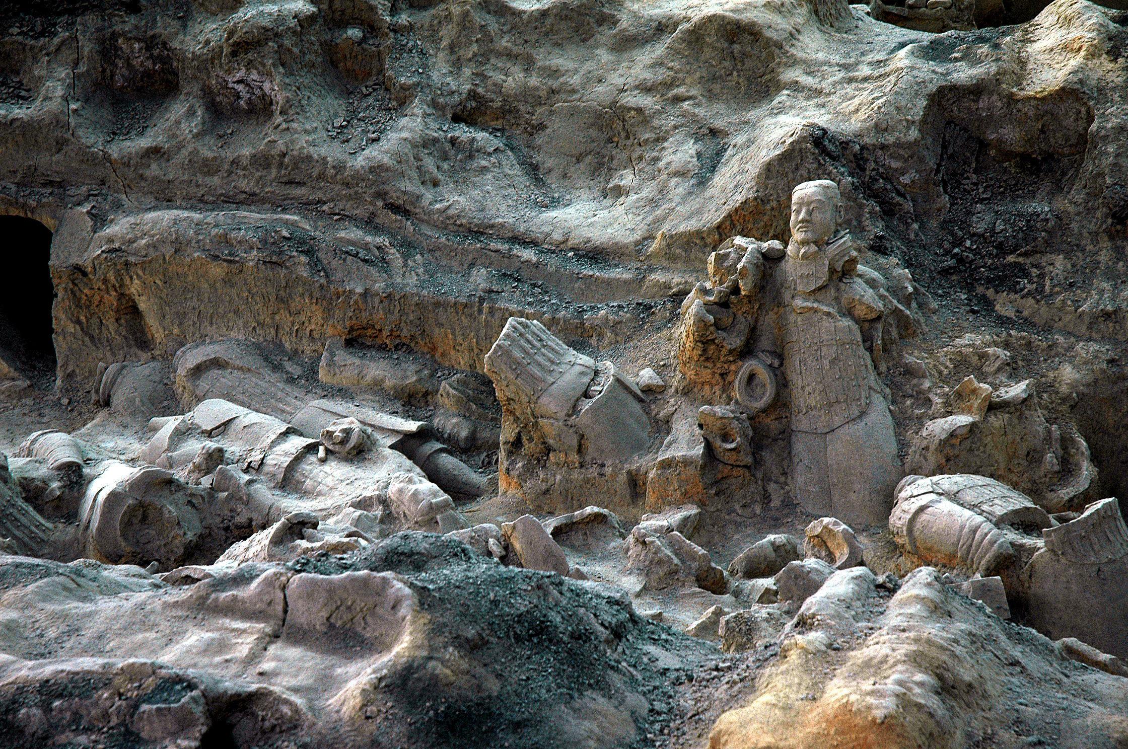 秦始皇兵馬俑博物館    -2