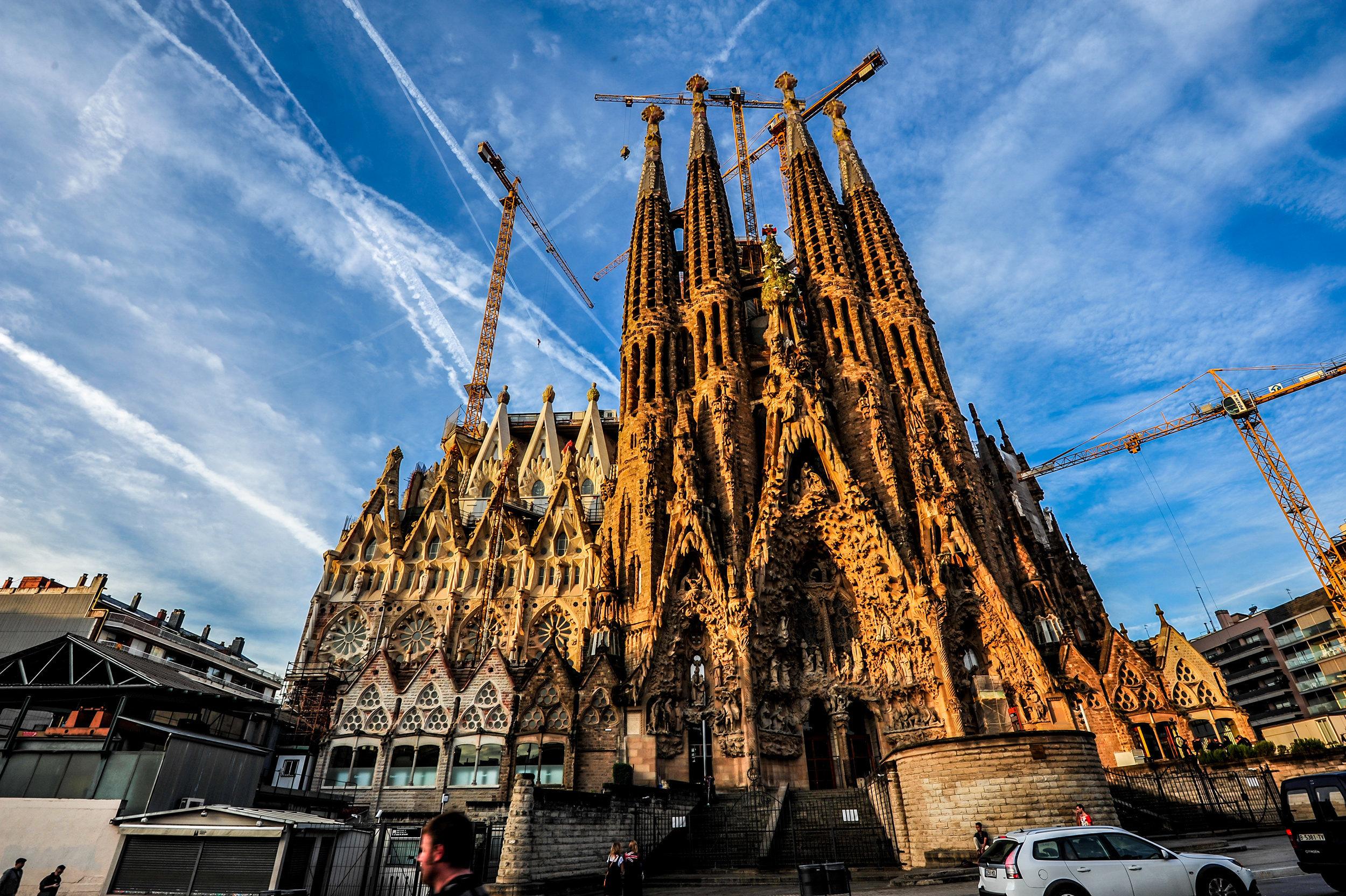 Sagrada Familia Fast Track Tickets with Audio Guide