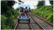 丽水海洋铁轨脚踏车