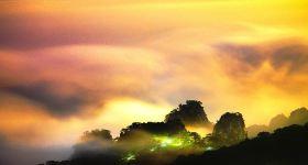 黄山登山拐杖