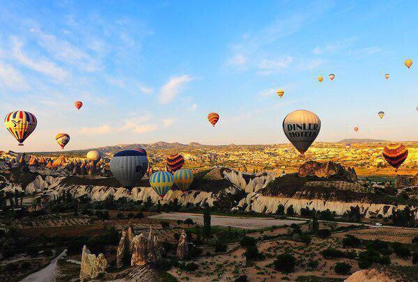 土耳其熱氣球