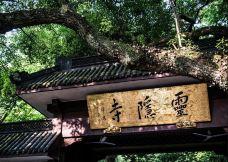 灵隐飞来峰景区-杭州-是条胳膊