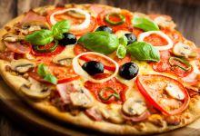 罗马美食图片-披萨