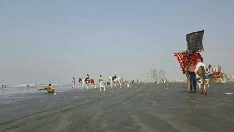 克里夫頓海灘  Karchi Clifton Beach   -2
