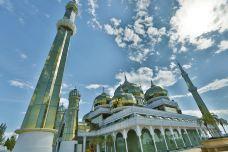 马来西亚瓜拉登嘉楼水上清真寺2-登嘉楼州-王楠