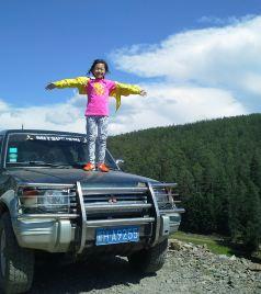 博乐游记图文-2015.8.2-18【新疆/壶口】风一样的女子,7岁娃17天1.3万公里之长征路