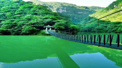 野人谷—索桥