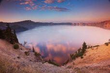 火山湖国家公园-波特兰-美国完美之旅