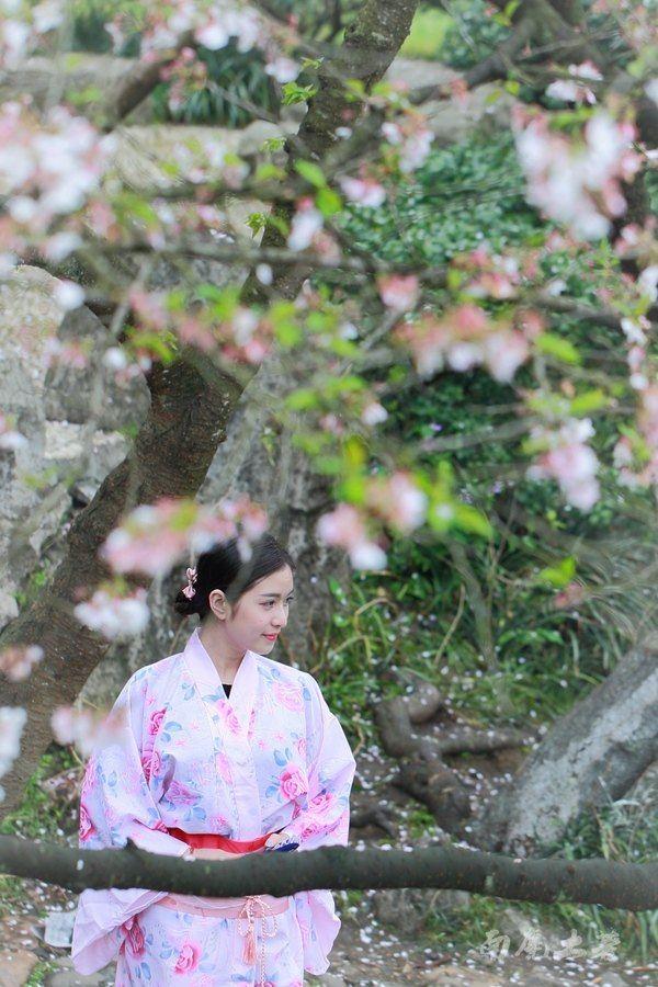 樱花季,国内妹子该不该穿和服 - 日本游记攻略【携程