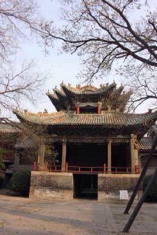 山陕会馆-聊城-阳光下的抹茶绿