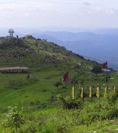 京山游记图文-神州第一古兵寨 绿林寨景点攻略