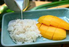 清迈美食图片-芒果糯米饭