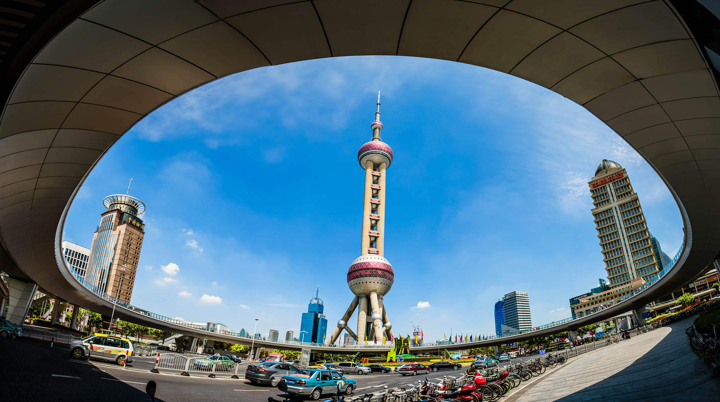 東方明珠  Oriental Pearl Radio and TV Tower   -0