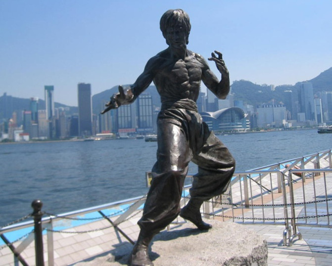 暑假香港游第一站 到香港杜莎夫人蜡像馆与明星来个亲密接触