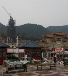宜阳游记图文-中秋节雨游灵山寺