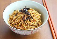 上海美食图片-葱油拌面