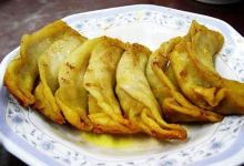 南京美食图片-牛肉锅贴